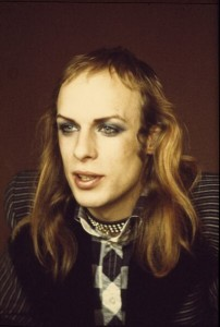 "Mr Brian Eno looking splendid in his ""Roxy Music"" years"