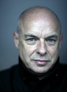 "Brian Eno, the co-author of ""Oblique Strategies"""